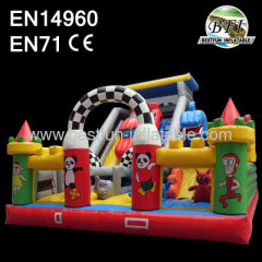Inflatable Slide Motorhome Outdoor Playgroud