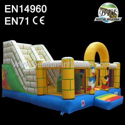Cartoon Inflatable Playground Equipment