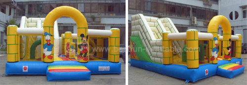 Slide Inflatable Cartoon