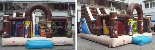 Speedway Inflatable Playground