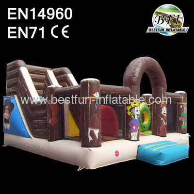 Multi function active center inflatable playground for children