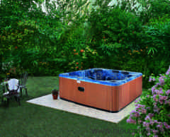 Tub spas and outdoor spas