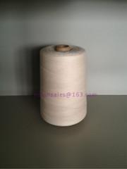 White Tea Bag Cotton Thread