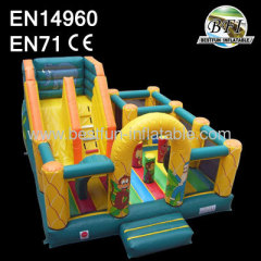 6mL*5mW*4mH Safari Slide Inflatable