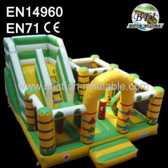 Giant Inflatable Slide Totem Playground