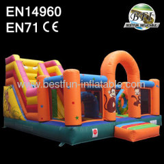 Slide Inflatable Zoo Playground