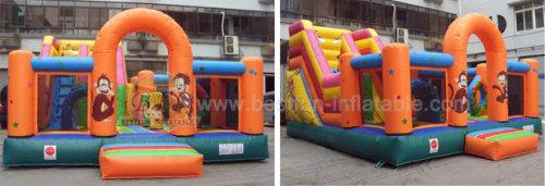 Slide Inflatable Zoo