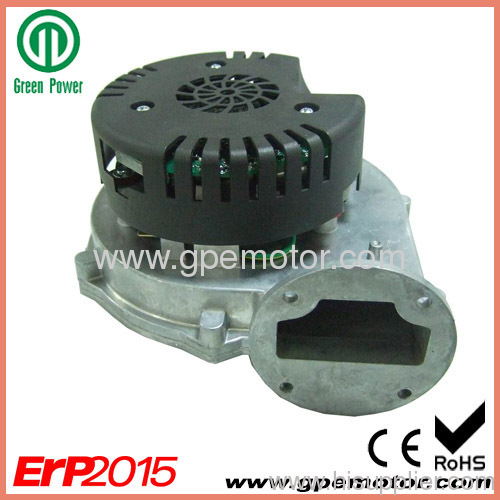 Small oil fired heating ventilation 24vdc ec exhaust for Oil for blower motor