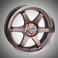 ALLOY WHEEL RAYS TE37