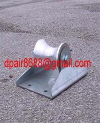 Steel Buried Cable Roller,Cable Roller For Well Head