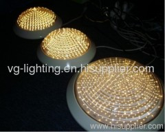 Round Plastic Ceiling Lamp/Made of PC / IP54/ Suitable for 2D PL E27 bulb