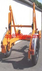 Pulley Carrier Trailer, Pulley Trailer, Cable Trailer,Drum Trailer
