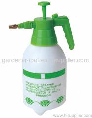 Plastic air pressure garden weed killer