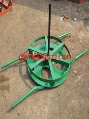 Cable drum trestles, made of cast iron,Jack towers