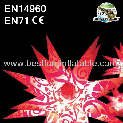 2014 hot selling inflatable star