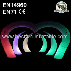 LED Inflatable Lighting Tusk