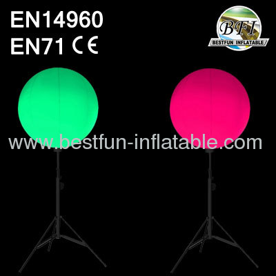 Led Light Inflatable Decoration Balloon
