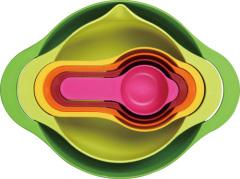coloured soup bowl set