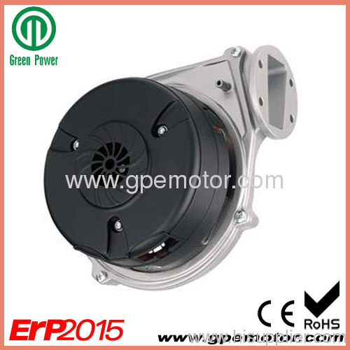 Automated production ec gas blower with brushless dc motor for Hot water heater blower motor