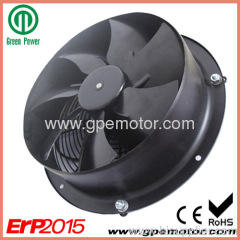 250mm EC Axial Flow Fan for chiller and cooling tower