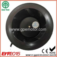 115V EC Radial Fan blower with Green EC external rotor Motor
