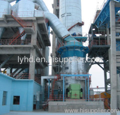 raw material vertical roller mills