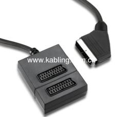 Scart Splitter 2 Way