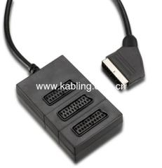 Scart Splitter 3-Way