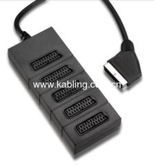 Scart Splitter 5-Way