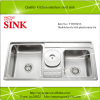 Hot sale stainless steel sink with dust bin