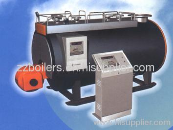 light oil and heavy oil burning boiler