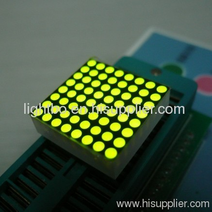 1.9mm 8 x 8 Ultra Red Dot Matrix LED Display