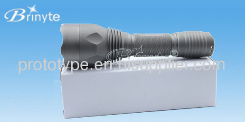 LED flashlight shell modelcustom led design