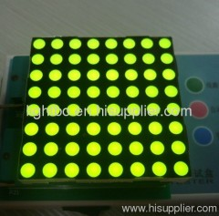8 x 8 green dot matrix led display;green 8 x 8 dot matrix