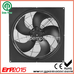 Telecom cooling 400mm EC Axial Flow Fan with speed control