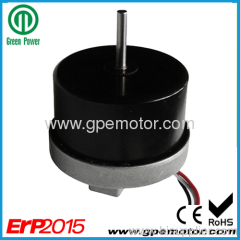 Variable speed control outer rotor brushless DC motor 12V