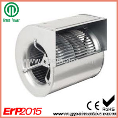 Small EC Dual Inlet Centrifugal Blower Fan Design 160
