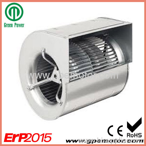 Small Centrifugal Fans : Small ec dual inlet centrifugal blower fan design from