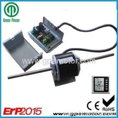 1/3hp energy saving Fan Coil Exchanger EC Fan Motor