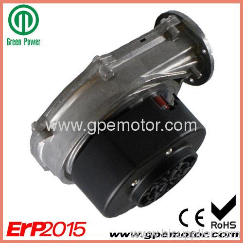 230V EC Radial Blower fan for wood stove and oil boiler