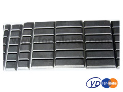 Excavator spare part antiwear wear plate for bucket chocky bar