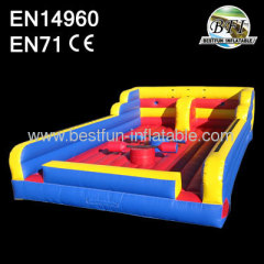2014 New Design inflatable Game Bungee Run and Joust Combo
