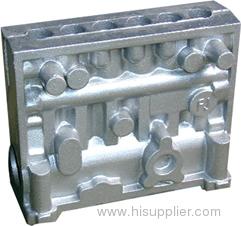aluminum sand cast part