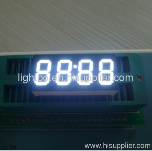 0.36 inches anode super bright green 4 digit led clock displays