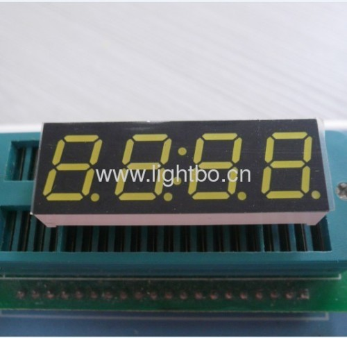 Super bright green common anode 0.39 inch4 digit 7 segment led displays
