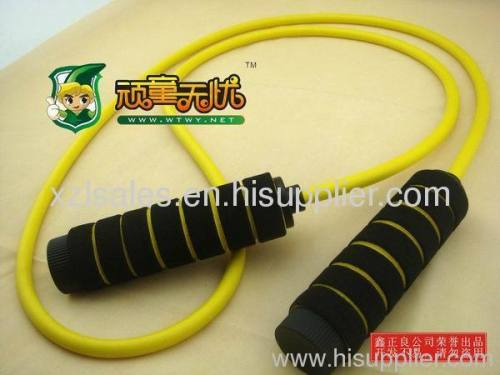 foam coated handle jump rope rope skipping