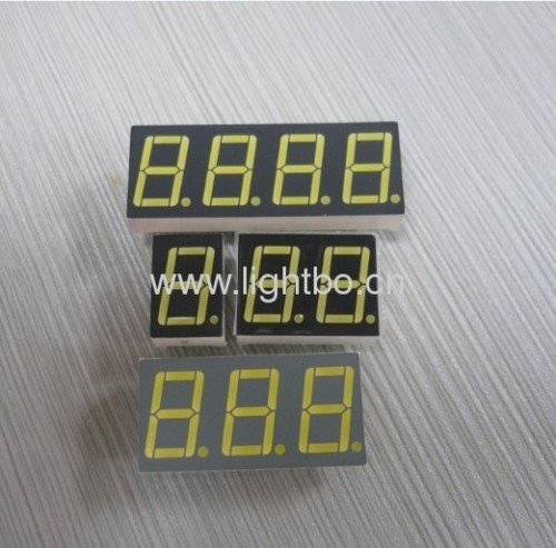 0.56 дюймов 7 сегмент белый светодиодный дисплей