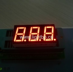 ultra red 3 digit 0.56 inch seven segment led display