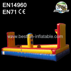 Inflatable Bungee Run With Basketbal