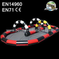 Inflatable Car Race Go-Kart Track
